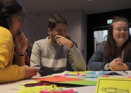 NRC students design their ideal work experience at innovation workshop.'SUBMITTED PIC