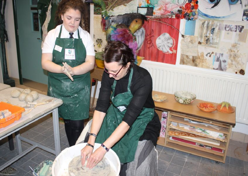 A touch of Art at New-Bridge Integrated College open day