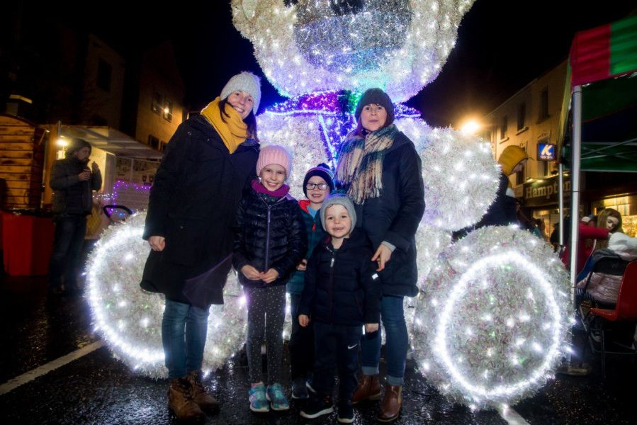 Pictured at the Banbridge Twilight market and Christmas lights switch on