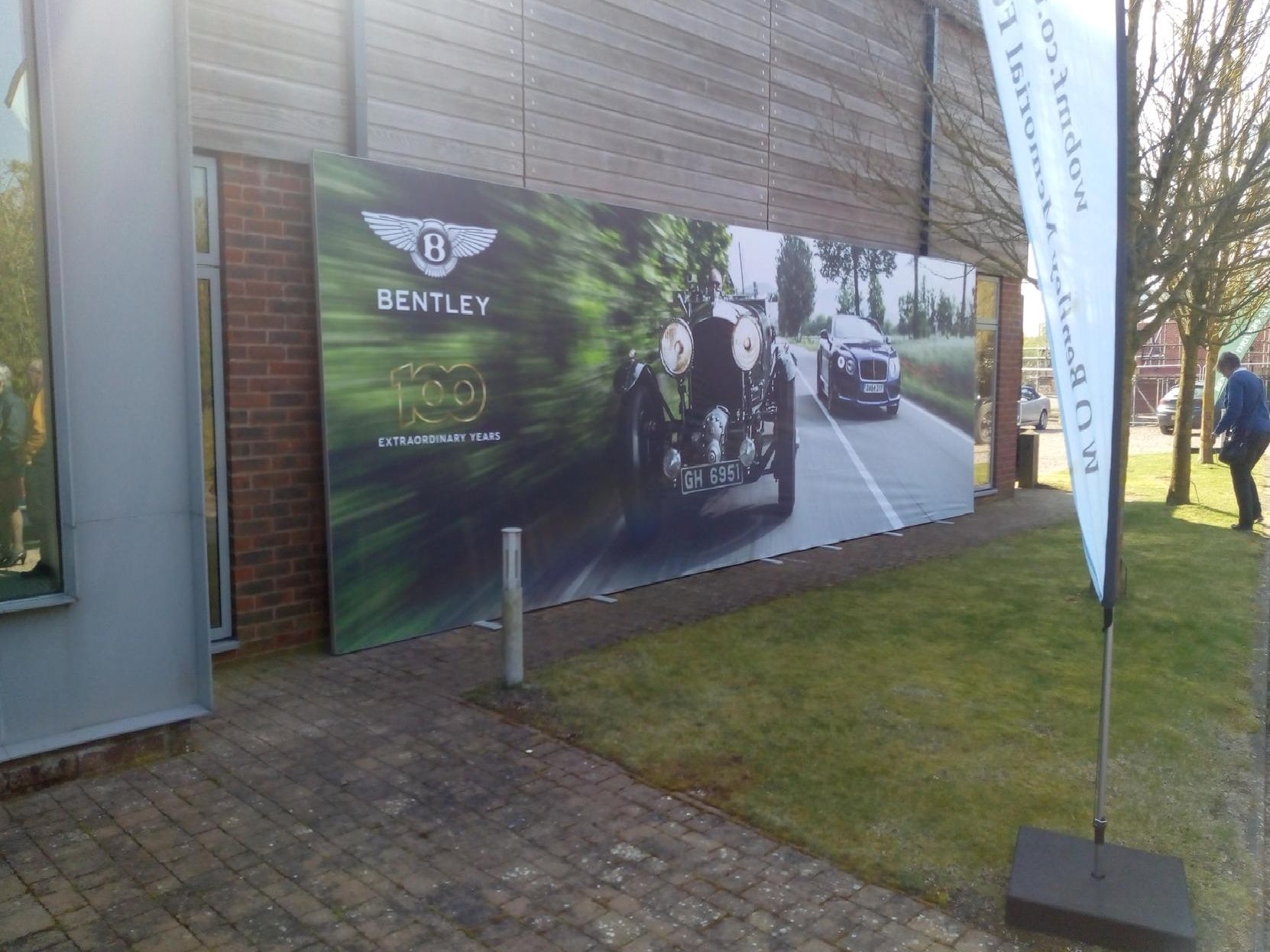 The Bentley Owners Club HQ in Wroxton's Apollo Park