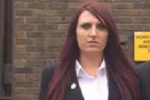 Britain First leader banned from Luton re-tweeted by Donald Trump