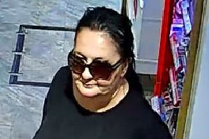 Woman wanted after theft in Berkhamsted High Street