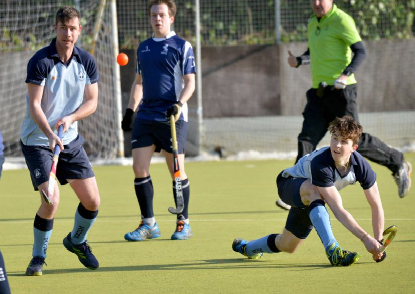 Action from South Saxons' 4-1 win at home to BBHC. Pictures by Justin Lycett