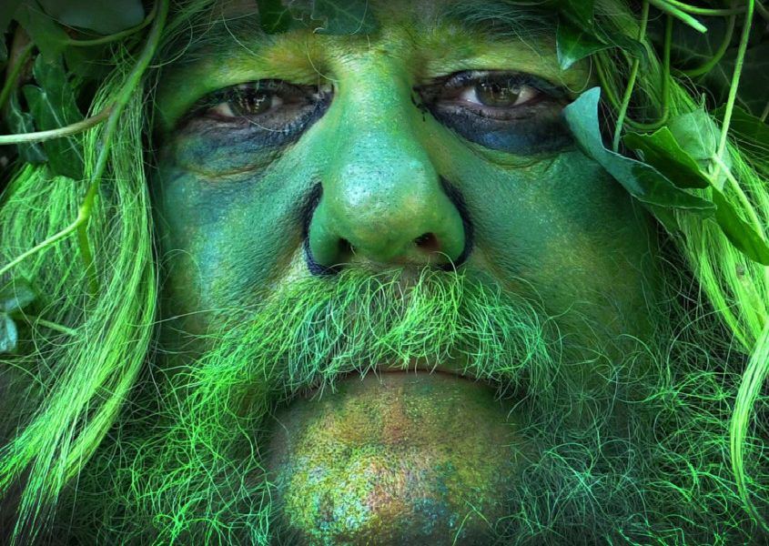 Jack in the Green 2019. Video still by Justin Lycett SUS-190705-073311001