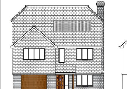 A picture of one of the proposed new homes