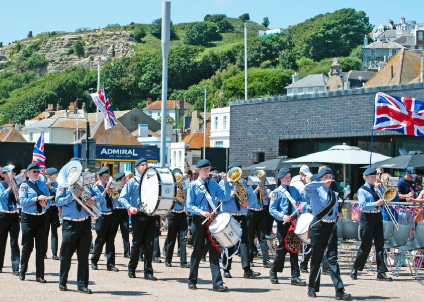 Armed Forces Day in Hastings 2019. Photo by Frank Copper SUS-190107-073235001