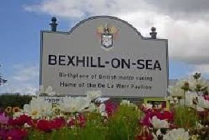 Bexhill on Sea sign SUS-190823-102803001