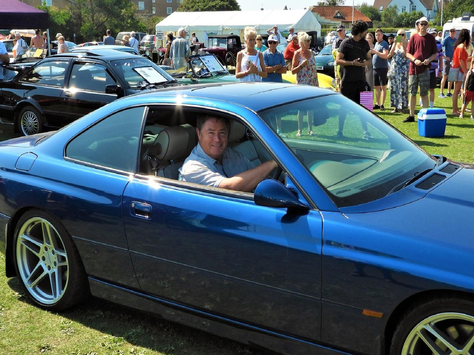 Bexhill Classic Car Show. Photo by Sid Saunders.