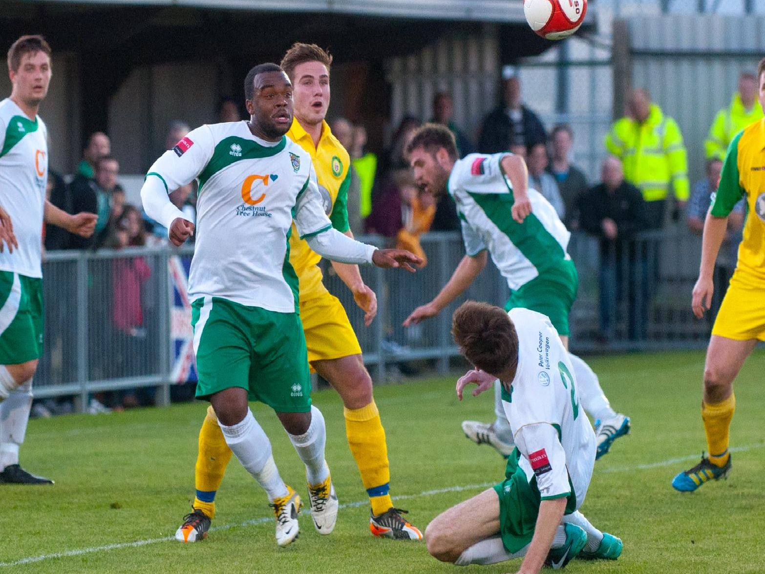 The Rocks draw 4-4 with Godalming in the play-off semi-final before winning on penalties / Picture by Tommy McMillan
