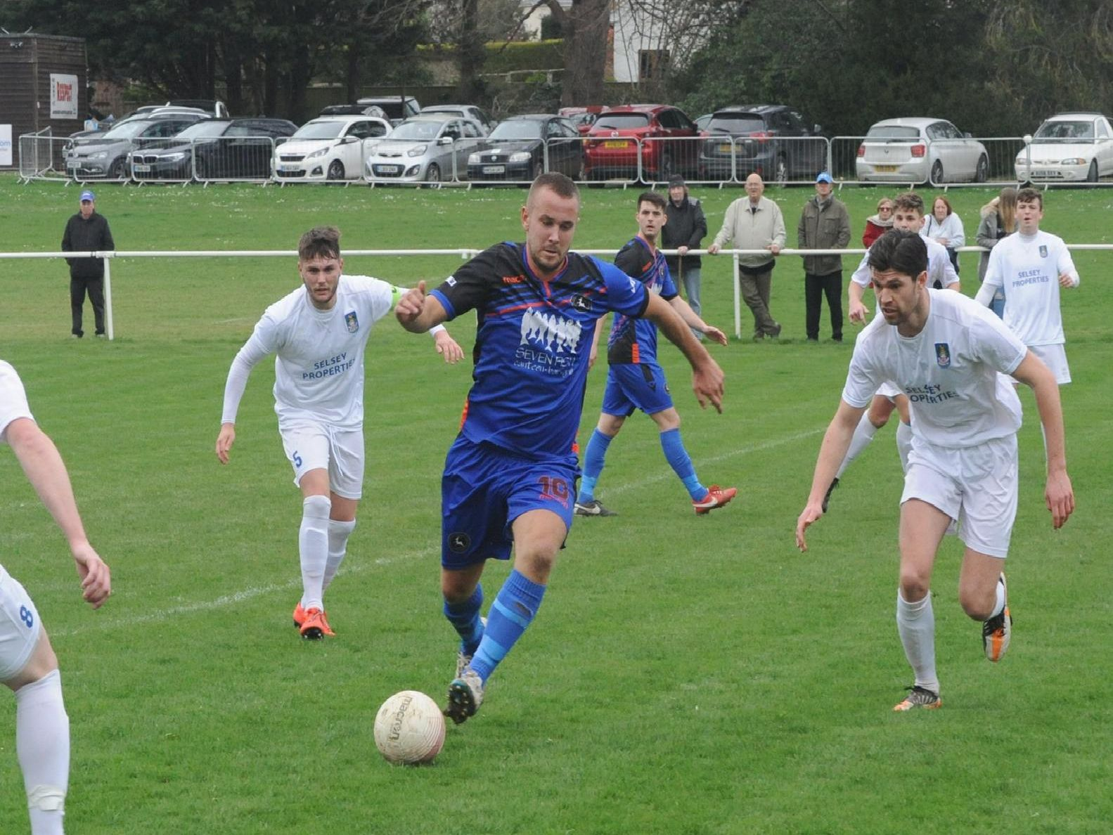 Midhurst take on Selsey at the Rotherfield / Picture by Kate Shemilt