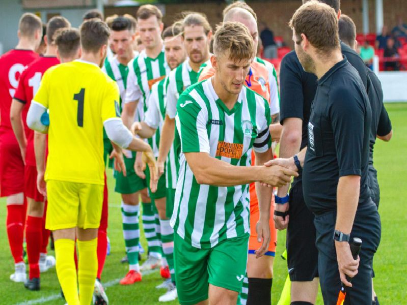 Chichester City open their Isthmian League south-east division season at Ramsgate / Picture by Neil Holmes