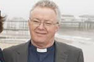 The Bishop of Grimsby, the Rt Rev David Court