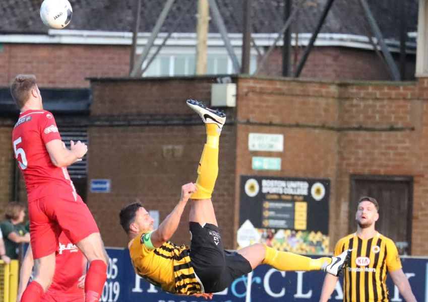 Match action from the Pilgrims' county cup win. Photo: Eric Brown