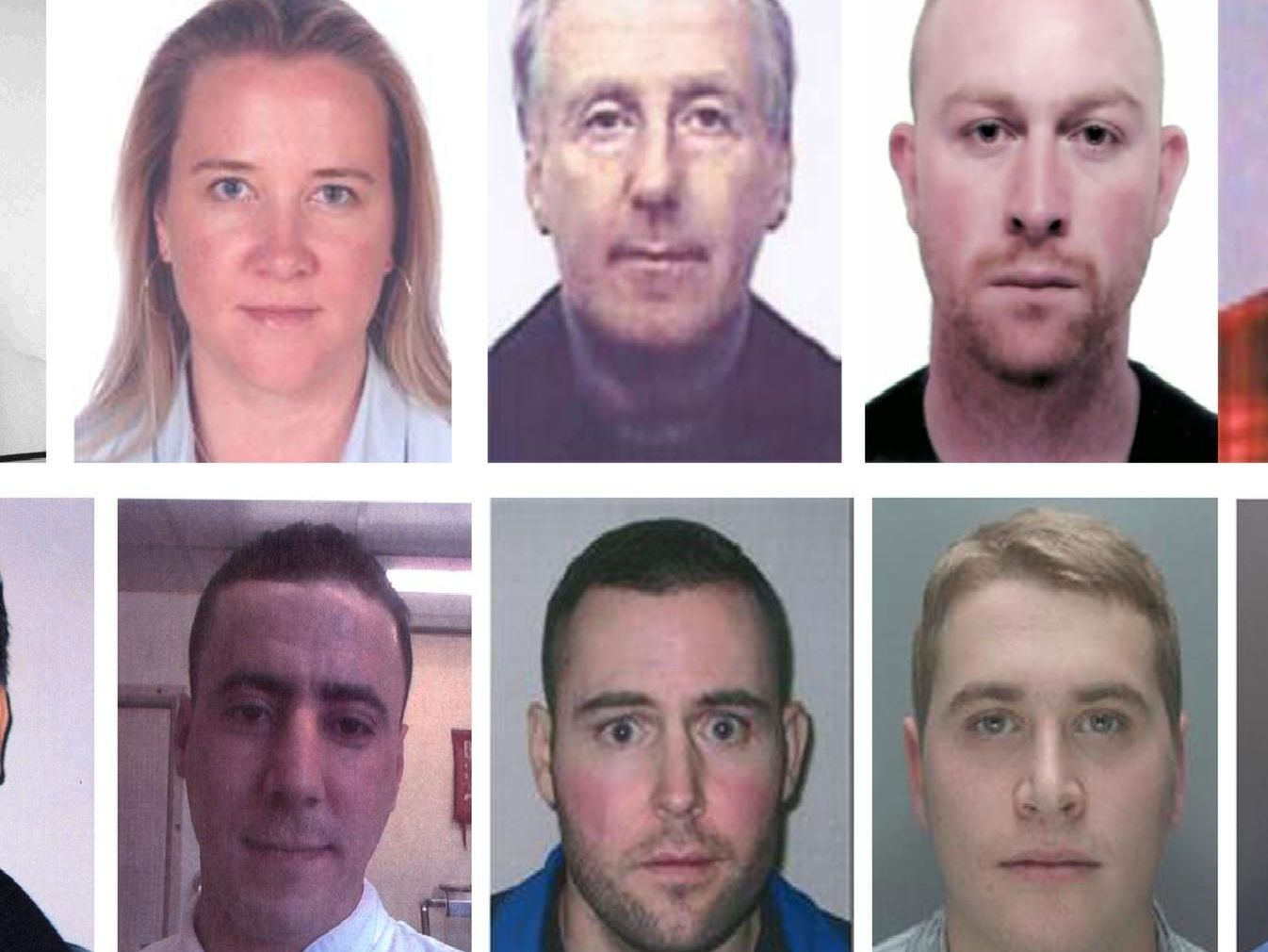 The 11 fugitives still wanted by police