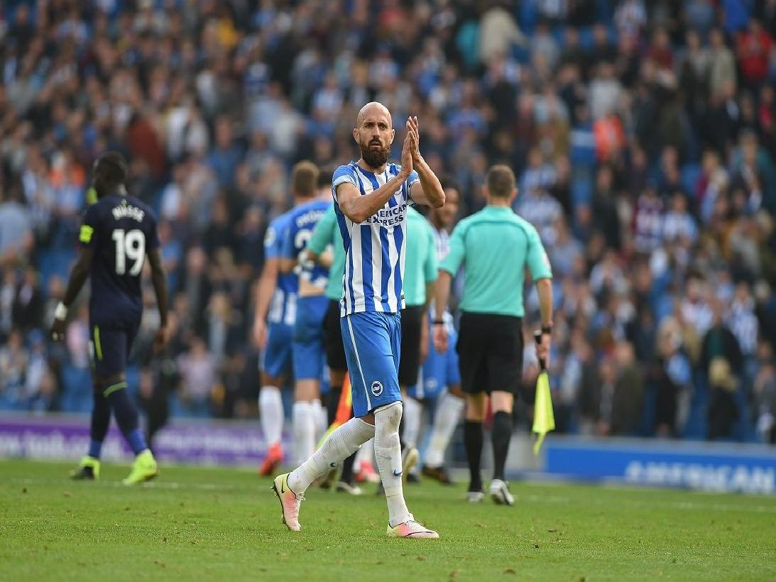 Brighton captain Bruno