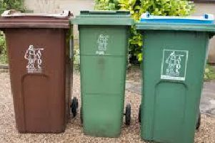 Library image of Aylesbury Vale District Council's recycling bins
