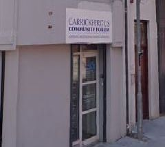 Carrickfergus Community Forum is a venue for the Stress Control classes. Image by Google.