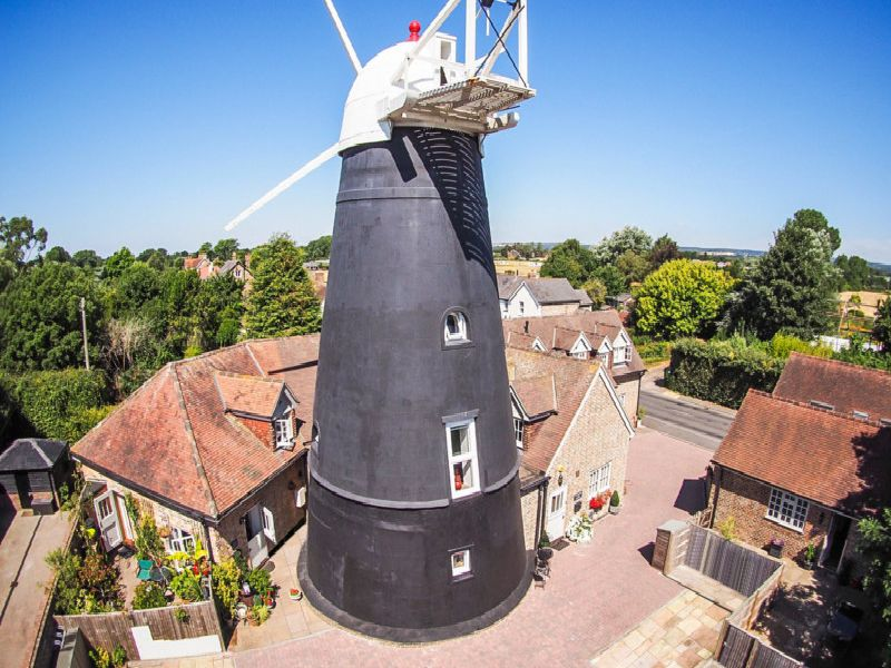 The Windmill at Barnham is a grade II listed former windmill which has been beautifully converted and sympathetically restored ove recent years. Picture: Jackson-Stops