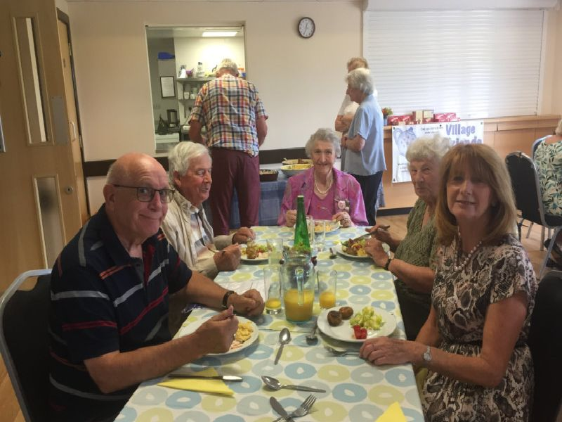 Village Friends hosted the summer lunch at Barnham Community Hall