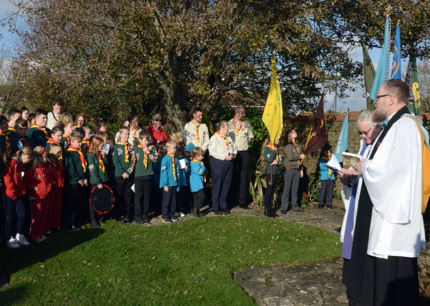 Remembrance Sunday in Ford