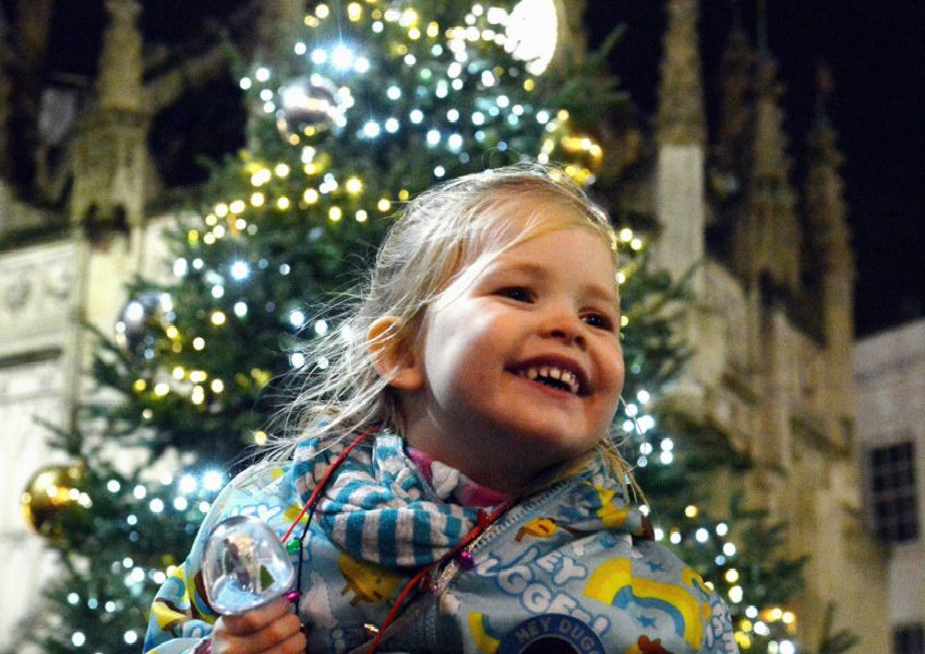 The Festival of Light celebration and Parade took place before Chichester's Christmas lights were switched on