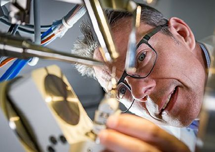 Professor John McGeehan and colleagues at the University of Portsmouth inadvertently engineered an enzyme better at degrading plastic than the enzyme which evolved in nature  Picture: Stefan Venter, UPIX Photography ' www.upixphotography.com