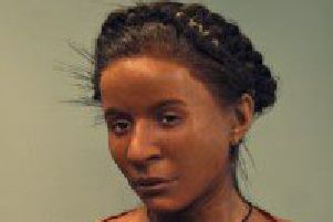 Neolithic woman, remains found on Whitehawk Enclosure  (Credit: Brighton Museum)