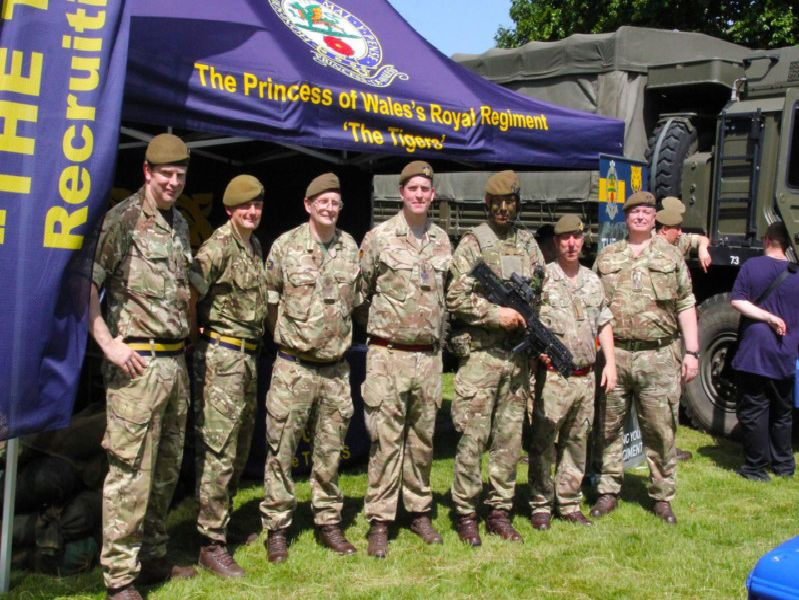 The sun shone and there a strong turnout for the annual Armed Forces Day in Memorial Gardens - all pictures by Malcolm Walls