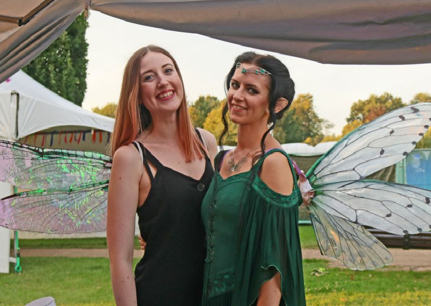 Fairies were among the attractions at the Enchanted Horsham event SUS-190827-152917001