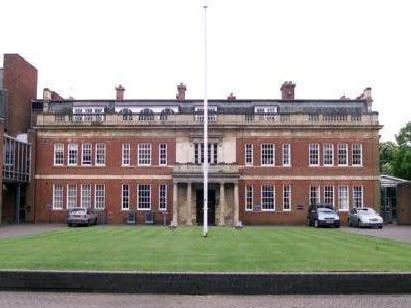 The disciplinary hearing was held at Northamptonshire Police's headquarters, at Wootton Hall.