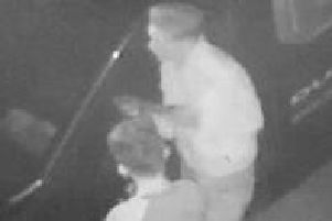 Two of the Devlin brothers seen stealing from a car on CCTV. Photo: Northamptonshire Police