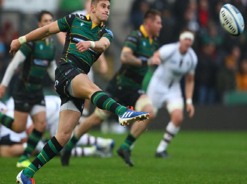 James Grayson steered Saints to victory against Worcester
