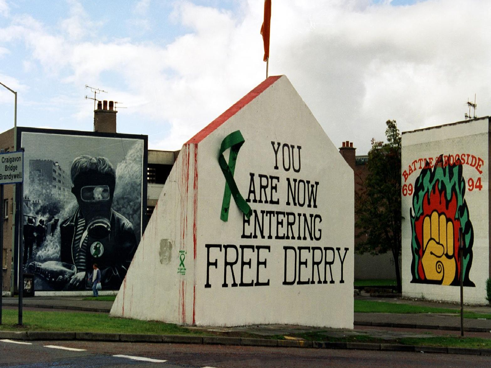 Free Derry Corner in the Bogside.