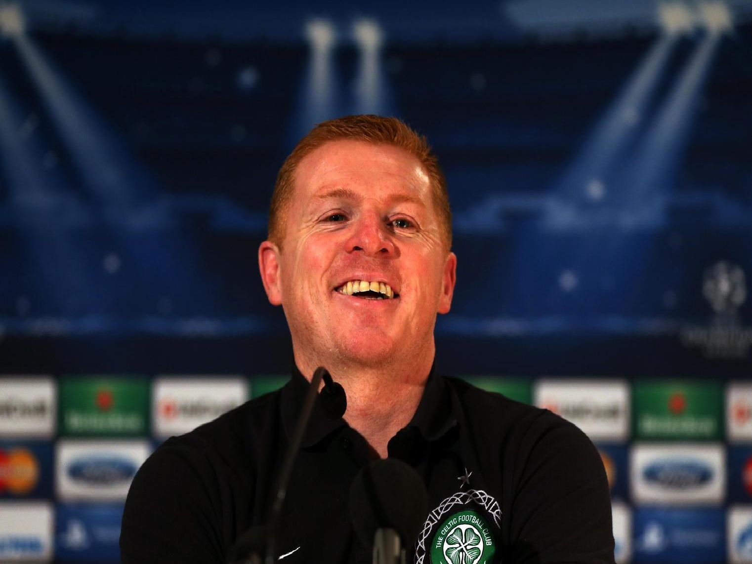 Celtic boss, Neil Lennon.