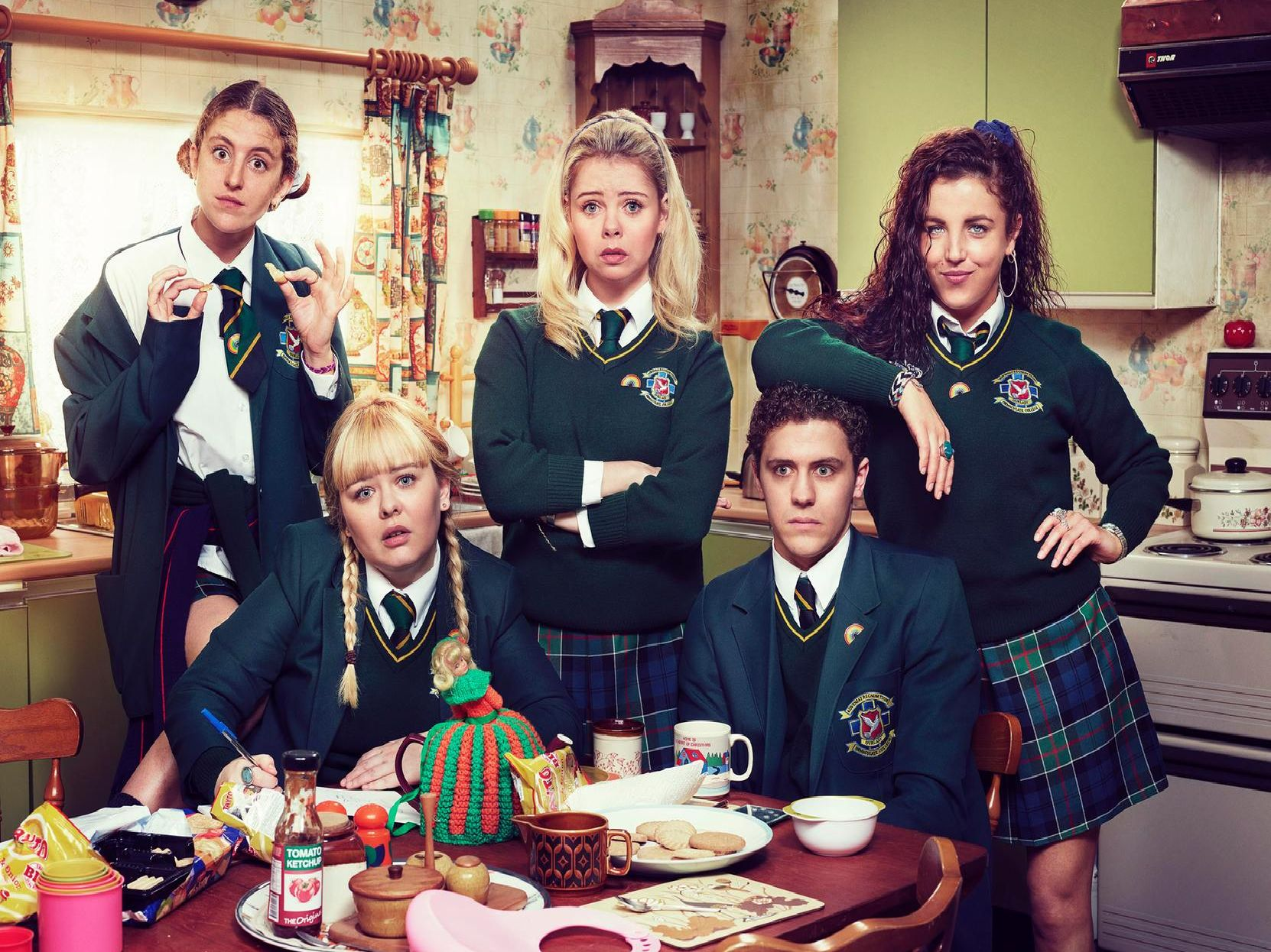 'Derry Girls' returned to our screens on Tuesday.