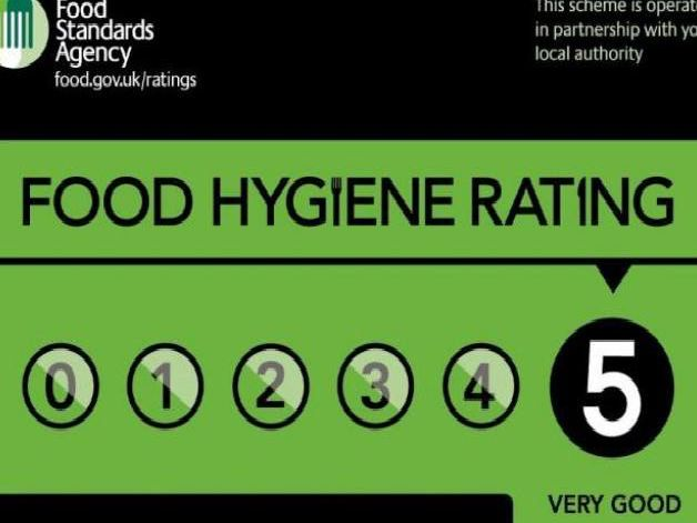 Food hygiene rating.