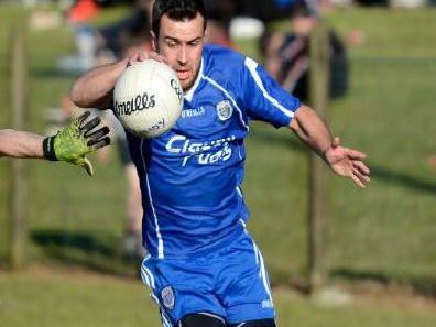Aaron Kerrigan won and converted a second half penalty as Claudy strolled into the Intermediate Championship semi-finals.