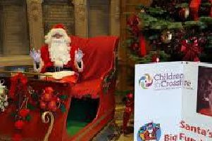The annual Santa Children in Crossfire appeal aims to raise over 5,000 this festive season.