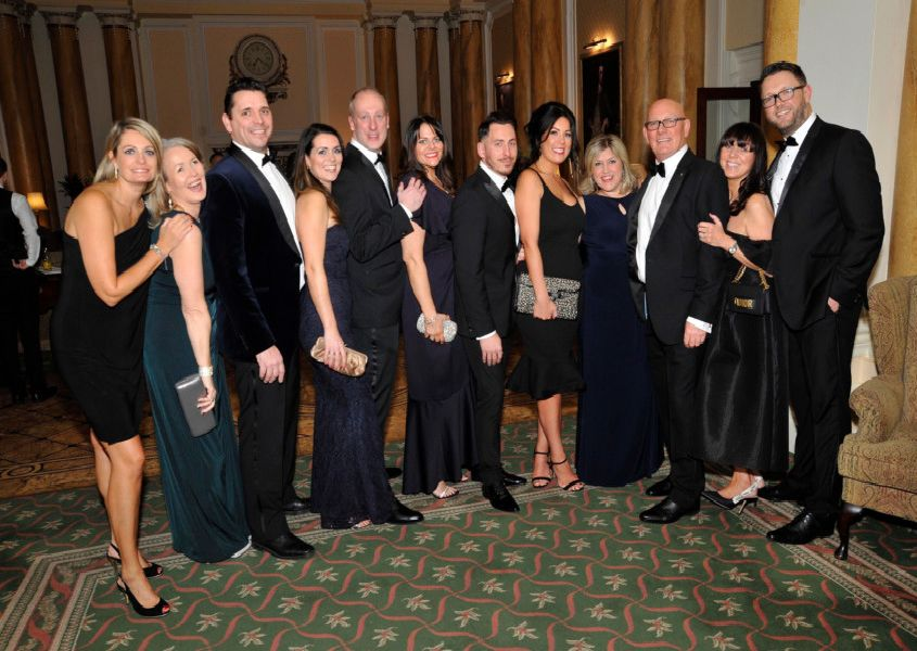 Eastbourne Law Society's annual dinner dance at the Grand Hotel. SUS-190602-095307001