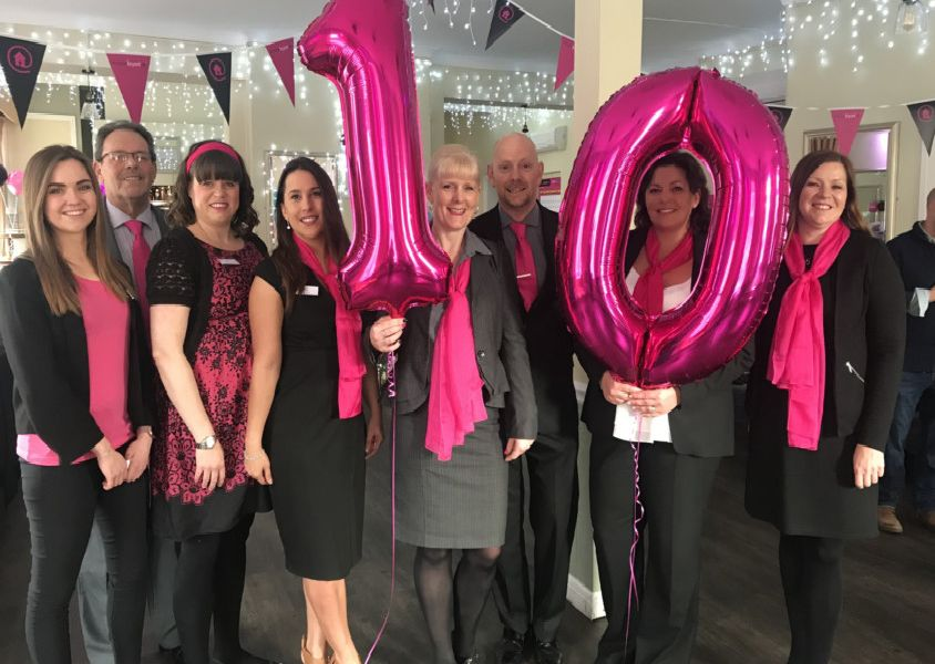 Eastbourne estate agents Mason Bryant celebrate 10 years in business. SUS-190417-112730001