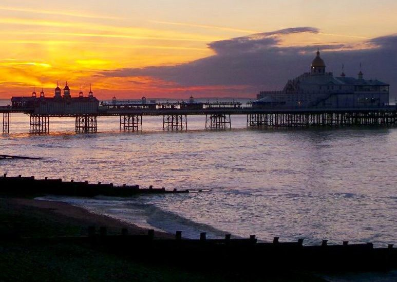 """Abbas Hosseini sent in this stunning shot of Eastbourne pier at sunrise on the morning of May 27. """"Hope you will find it interesting,"""" he said. """"Have a nice day."""" SUS-190530-092115001"""
