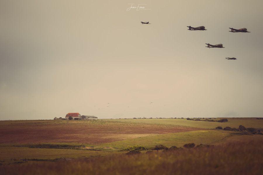 Beachy Head D Day Flypast.'Photo by Jamie Evans SUS-190606-090353001