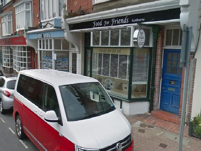 Food for Friends in Meads Street, Eastbourne. Picture: Google Maps