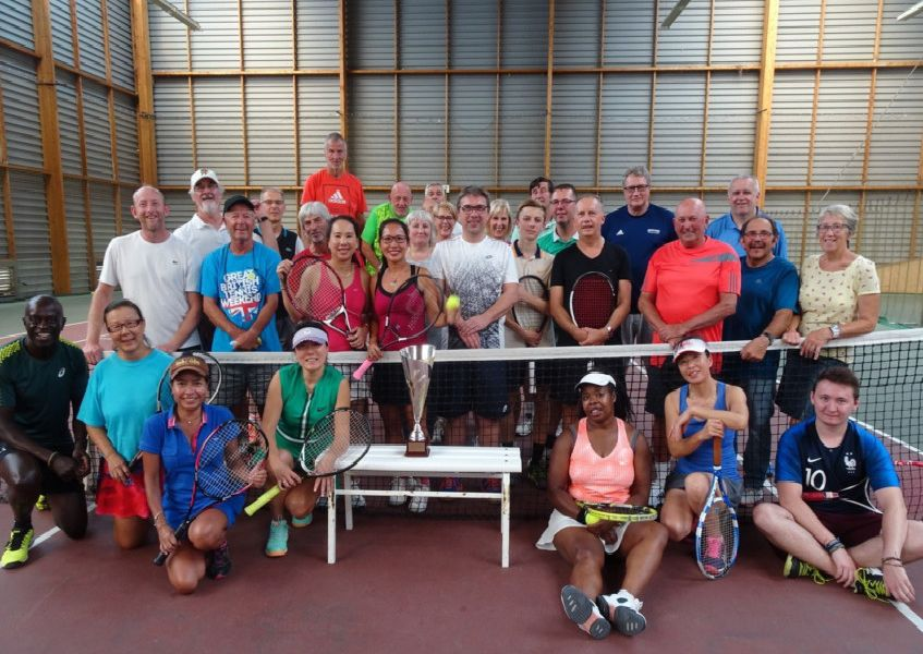 Hailsham Tennis Club visits Gournay-en-Bray in France for the annual exchange trip. SUS-190925-095641001