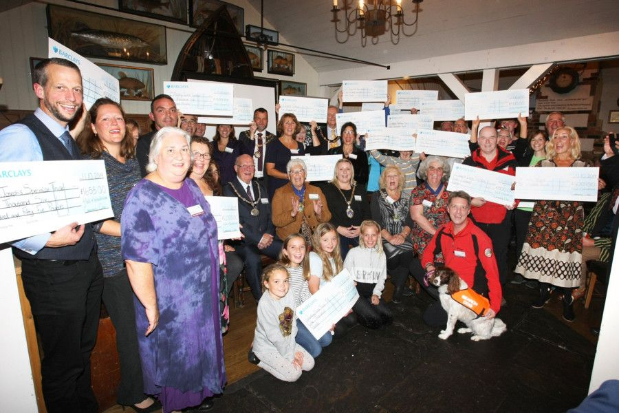 DM19102007a.jpg. Hall and Woodhouse Community Chest�awards 2019 in Arundel, West Sussex, all of the winners. Photo by Derek Martin Photography. SUS-191110-231700008
