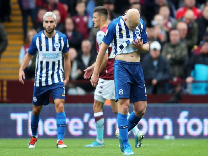 Aaron Mooy is dismissed