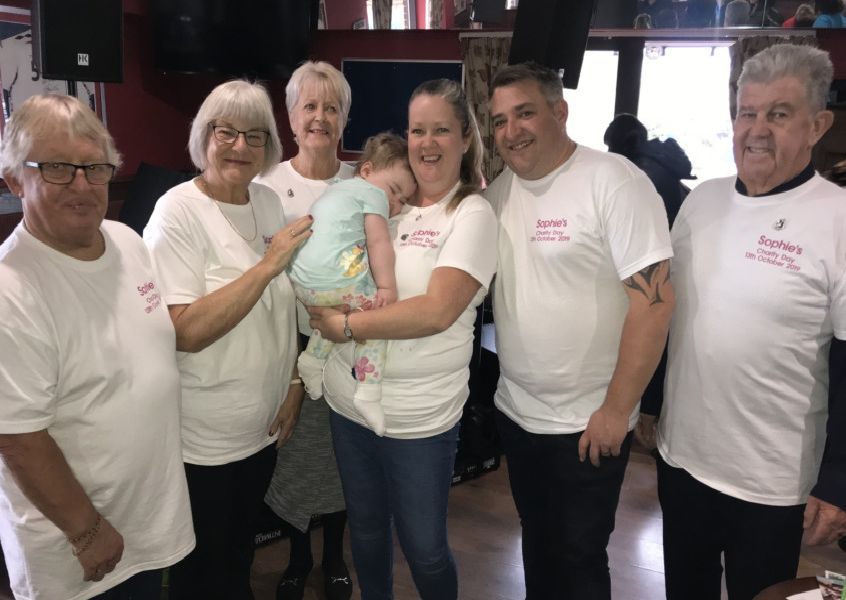 Sophie's Charity Day took place at the Garden Bar in Sovereign Harbour, to raise funds for Ronald McDonald House. SUS-191023-094652001