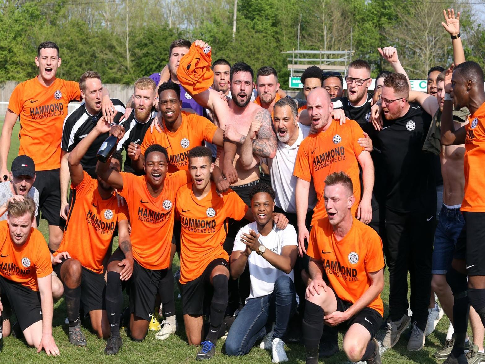 Lutterworth Town won promotion to the UCL Premier Division