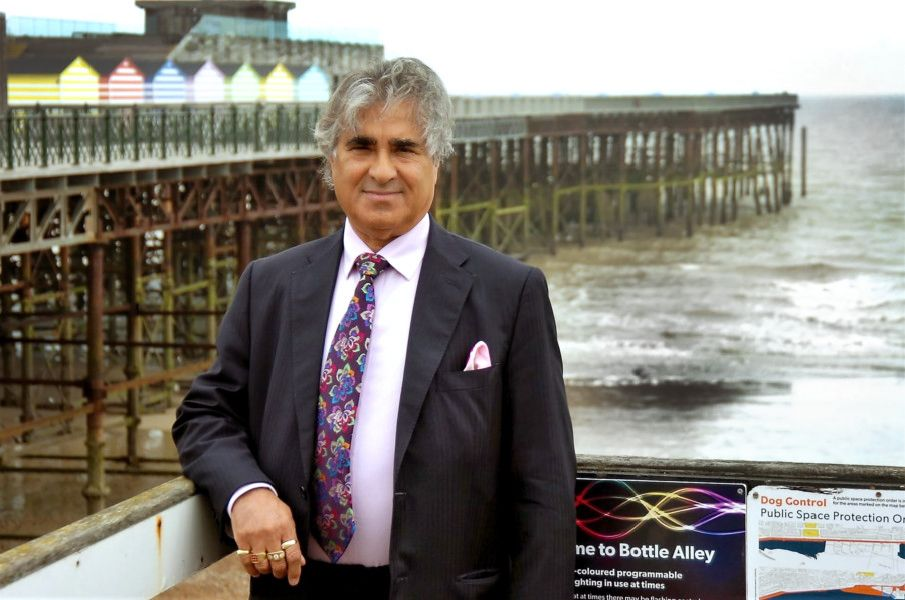 Sheikh Abid Gulzar, present owner of Hastings Pier. Photo by Sid Saunders SUS-180619-165338001