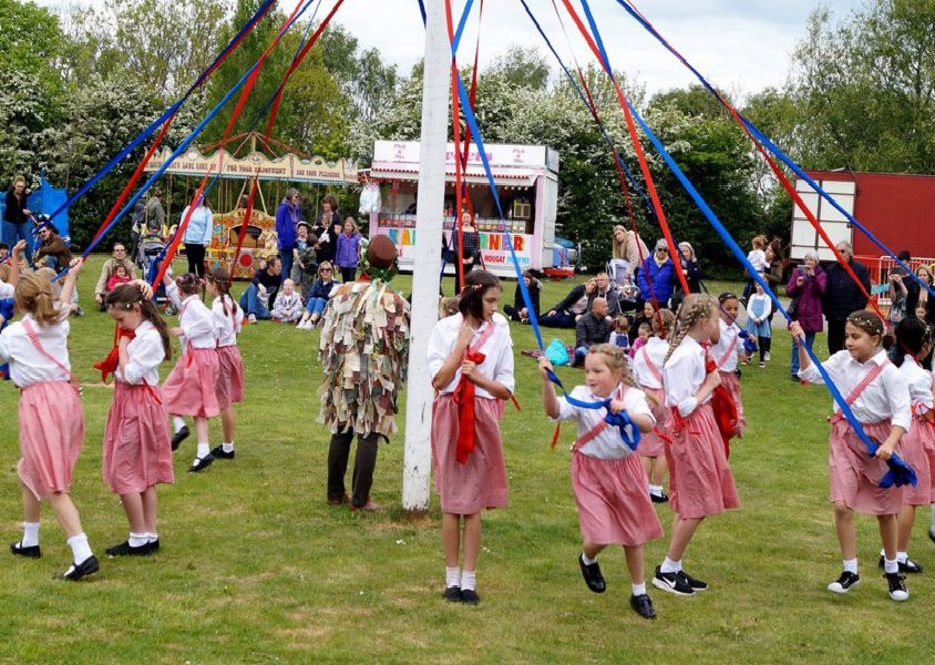 May Day celebrations in Barrack Hall Park, Bexhill. Photo by Derek Canty. SUS-190705-085047001